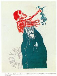 Klaus Rosanowski: Kassenarzt und der Tod (1973-74)